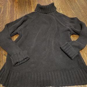 Gap Black Turtleneck Sweater